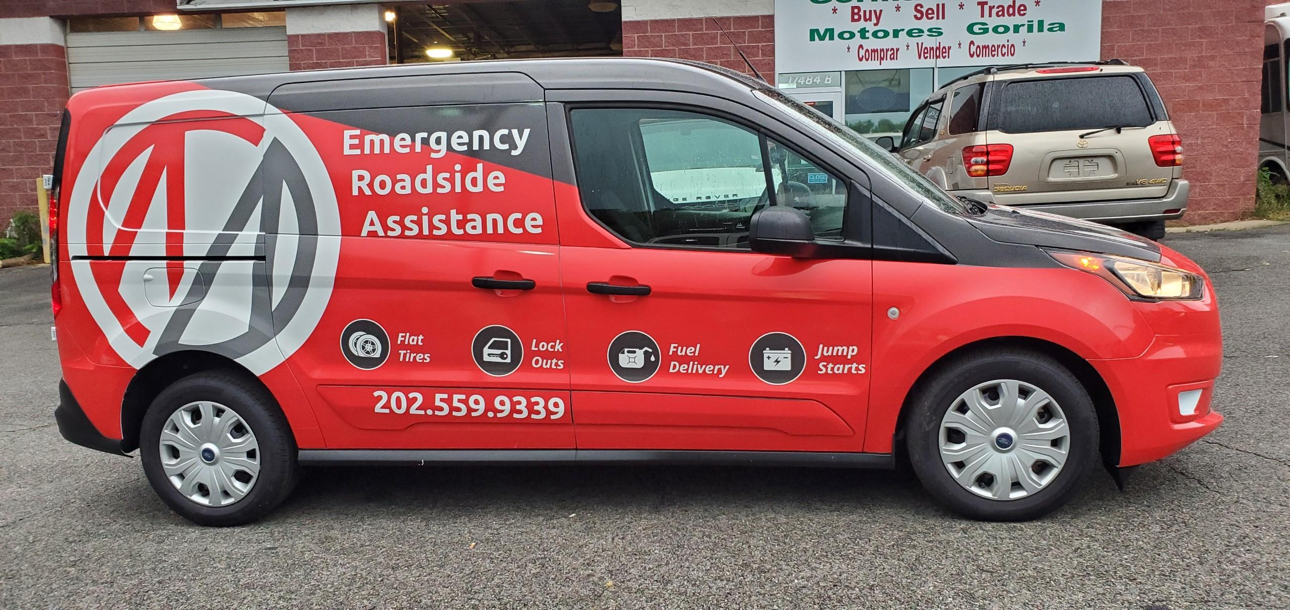 Roadside Assistance Now Available 24/7